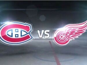 CHEAP TIX !!!   Detroit Red Wings vs Montreal Canadiens