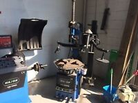 Tire changer and balancer machine for sale
