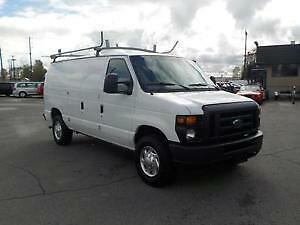 2010 Ford E-250 With Shelves/Ladder rack/Divider