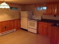 All included 1 bedroom basement apart $675.