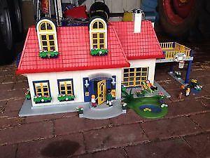 Playmobil 3965 ebay for Playmobil haus schlafzimmer