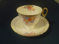 Shelley Bone China Cup And Saucer