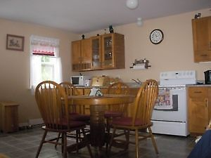 kitcher table and 4 chairs