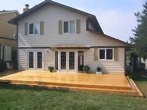 Super Calgary Deck & Patio Service, Quality Work at a Great Pric
