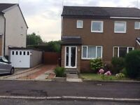 2 Bedroom Semi Detached House located In Monkton Gardens Newton Mearns - Available 05-08-2017