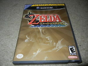 Zelda Wind Waker Mint Condition + Case & Manual GameCube $55OBO