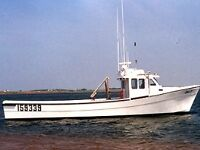 WANTED to buy FIBERGLASS Lobster boat 40-45''