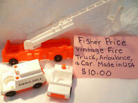 Vintage Fisher Price Toys 30+ years old - Various Prices