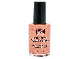 GALE HAYMAN 14K GOLD NAIL COLOUR. 15ML.