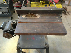 LARGE TABLE SAW TOOLEX 10 IN -and 14 IN BAND SAW London Ontario image 4
