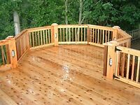 #1 fence/deck staining/sealing protect your wood before winter