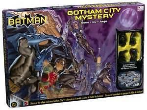 BATMAN Gotham City Mystery Game & BATMAN  DVD