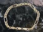 Large Link Gold Bracelet