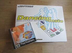 PS2 DANCE MAT AND GAME.