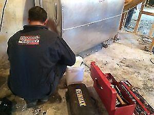 pompage et démantèlement de réservoir/systèmes au mazout