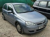 Vauxhall Corsa 1.4 O/S Wing In Silver 163 Breaking For Parts (2006)
