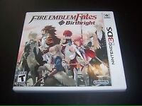 fire emblem birthright/conquest 3ds