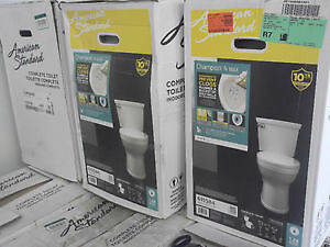 NEW AMERICAN STANDARD CHAMPION 4 MAX TOILETS - TEMP SOLD OUT