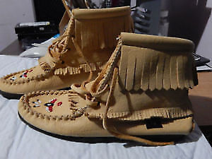 Laurentian Chief Suede Moccasins London Ontario image 1