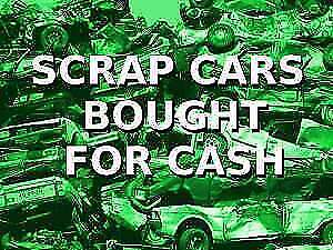 $SCRAPPING CARS$