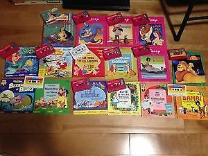 Collections de livres cassettes Disney