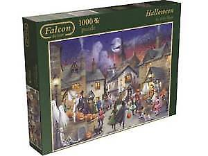 FALCON DE LUXE 1000 PUZZLE HALLOWEEN BY TONY RYAN COMME NEUF