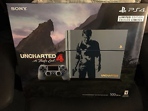 play station 4 Uncharted™4 PlayStation®4 Bundle