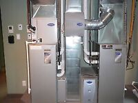 DUCT WORK/FURNACE REPLACEMENT/AIR CONDITIONING/GARAGE HEATER
