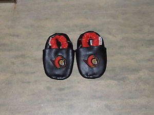 Official NHL Ottawa Senators Leather Booties