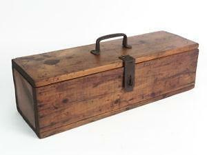 small wooden tool box