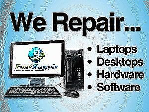 Computer Repair  Services & Sales      Fast & Affordable !!