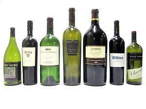 Empty Wine Bottles Lots