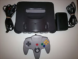CONSOLE NINTENDO 64 + JEUX / NINTENDO N64 SYSTEM + GAMES