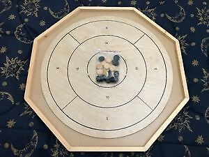Regulation Wood Crokinole Board