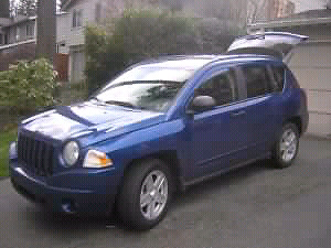 2007 jeep compass LOW KM great on gas