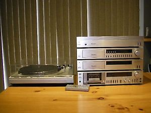 TECHNICS STEREO SYSTEM WITH TURNTABLE **REDUCED**