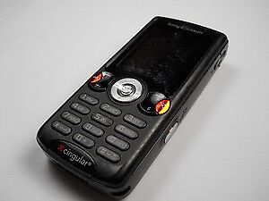 Unlocked Sony Ericsson W810i Black w/Accessories