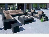 Brown Los Cabos Sectional Set