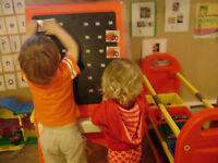 Pre-school spaces at Teddy Bear Daycare Riverview
