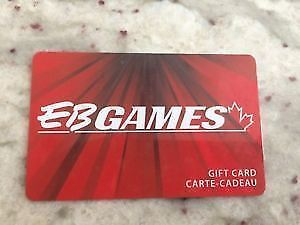 $50 EB Games Gift Cards
