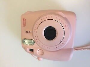 Pink fujifilm instax never used