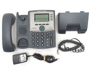 Linksys Cisco SPA504g 4 Line Phone with Power Supply
