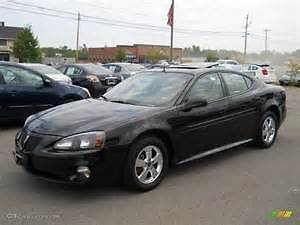 2007 Pontiac Grand Prix black Sedan