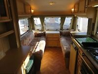 Sterling Europa 2 birth caravan with motormover and full awning