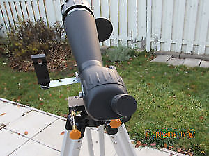 NEW Ultra-portable custom made 90 mm refractor telescope