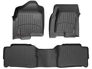 Wealthertech Floor Matts, complete set Lincoln MKX