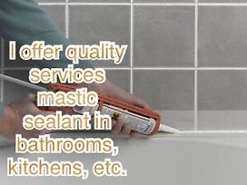 Professional and quality Mastic man, sealant applicator !