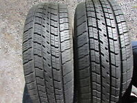 Cooper Set of 2 Used All Season Tires 205/65R15;90% tread left
