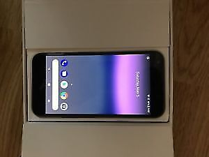 Google Pixel XL with case and protector Good shape