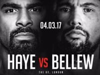 Haye v Bellew tickets x2